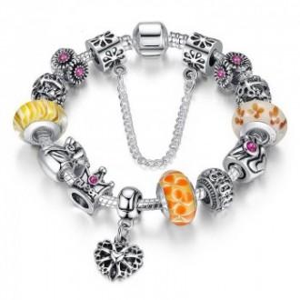 Bracelet de charme style Pandora